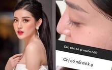 """Tâm sự mỏng với fan, Huyền My hé lộ điểm tuyệt phẩm trên gương mặt nhưng bị """"làm hại"""" do makeup quá nhiều"""