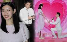Màn cầu hôn khoa trương nhất Cbiz ngày hôm nay: Thiếu gia tỷ đô quỳ xuống trao nhẫn cho chân dài Victoria's Secret