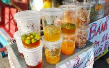 """Mùa hè ập đến Hà Nội rồi, nếu có bán các loại nước """"khổng lồ"""" thế này thì còn gì tuyệt vời bằng"""