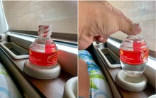 """Ngỡ cú lừa với bức hình """"chai nước tí hon"""" đang gây sốt trên mạng, hóa ra nhà xe này lại có tâm lắm đấy!"""