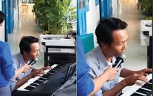 """Vừa đàn vừa hát """"999 Đóa Hồng"""", thầy giáo được học sinh hát theo cuồng nhiệt như đang ở concert thần tượng"""
