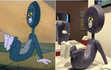 """Bảo tàng Nhật Bản """"tưởng nhớ"""" những pha bị troll của mèo Tom trong phim đang khiến cả cộng đồng mạng phát sốt"""