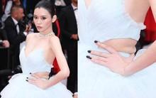 """Vòng eo ngấn mỡ tại Cannes là minh chứng """"cưới chạy bầu"""" của Ming Xi với thiếu gia tỷ đô Hà Du Quân?"""
