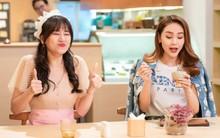 Hari Won làm cô phục vụ cho Minh Hằng, Lan Ngọc, Eunjung (T-ara)... trong show thực tế mới