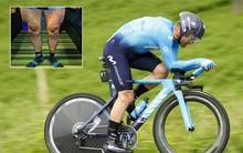 """Sửng sốt trước hình ảnh đôi chân chằng chịt """"dây điện"""" của VĐV xe đạp nổi tiếng, kinh hãi đến mức cặp giò của Ronaldo vẫn không là đối thủ"""