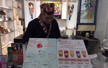 Lạ mắt với trà sữa nướng phong cách Nhật Bản