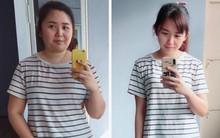 Giảm liền tù tì 30kg trong một năm, cô gái mũm mĩm hoá girl xinh khiến bạn bè không nhận ra