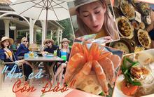 Ô! Chi Pu với hội bạn thân Quỳnh Anh Shyn - Phở - Sun HT du lịch Côn Đảo 3 ngày mà toàn thấy... ăn với ăn, đến khi về vẫn còn hẹn nhau làm bữa nữa