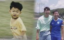 """Fan phát cuồng trước những bức ảnh cực hiếm thời bé của """"oppa"""" Son Heung-min: Đã dễ thương lại còn xinh trai từ bé"""