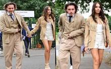 Cậu cả nhà Beckham gây sốc với dáng vẻ vừa già vừa lôi thôi, sánh vai bên bạn gái hơn tuổi mà vẫn như bố con