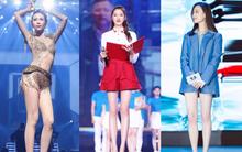 Những người đẹp sở hữu đôi chân đẳng cấp nhất của showbiz Hoa ngữ: Mỹ nhân 49 tuổi cạnh tranh cùng người yêu cũ của Huỳnh Hiểu Minh