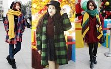 Sắc màu Giáng sinh tràn ngập street style giới trẻ Hà Nội