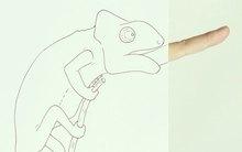 Tuyển tập tranh động vật vô cùng sáng tạo từ ngón tay và nét vẽ dở dang
