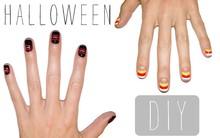 DIY 5 mẫu móng tay siêu đơn giản chào mùa Halloween