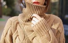 4 tips mặc áo len cổ lọ thật trendy mùa đông này