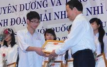Học sinh đoạt giải quốc gia được tuyển thẳng vào đại học