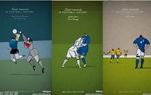"""Ấn tượng với bộ tranh lịch sử bóng đá theo """"phong cách"""" hoạt hình"""