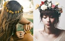 Băng đô hoa - Phụ kiện ngọt ngào cho cô nàng lãng mạn
