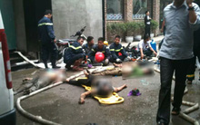 Hà Nội: Cháy lớn bar đang thi công tại khu ăn chơi Zone 9 làm 6 người tử vong