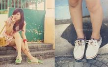 Mix trang phục yêu yêu với giày Sweety YaMe