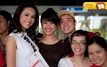 Hoàng My trở về Việt Nam sau cuộc thi HH Hoàn Vũ