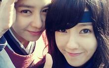 """Hyo Min (T-ara) hớn hở """"tự sướng"""" trên phim trường """"Gye Baek"""""""