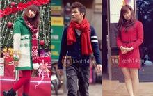 Street style của các bạn trẻ Hà Nội tràn ngập màu sắc Giáng sinh