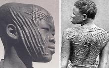 """""""Tự rạch thân để làm đẹp"""" ở các bộ lạc châu Phi"""