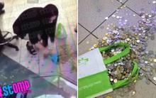 Clip nữ khách hàng vật vã đếm 1.010USD tiền xu do Mobile Air hoàn trả