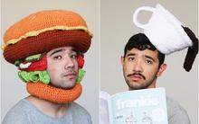 Gặp gỡ anh chàng mê đội mũ len đồ ăn cùng biểu cảm tức cười
