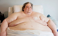 Người đàn ông nặng 444kg qua đời ở tuổi 44