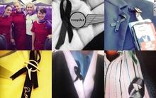 Tiếp viên hàng không trên toàn thế giới đồng loạt đeo ruy băng đen