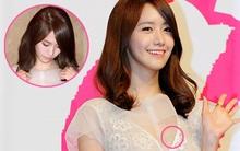 """Họp báo """"Love Rain"""": Yoona """"cân chỉnh"""" phục trang hoài vẫn... lộ!"""