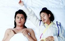 """Ảnh giường chiếu hài hước của cặp đôi """"Vi sư sắc sảo"""""""