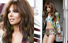Cheryl Cole cực sexy trên trường quay MV mới