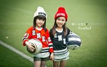 Vẻ đẹp hút hồn của hai thiên thần nhí nhóm nhạc nhỏ tuổi nhất Trung Quốc