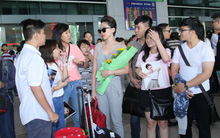 Trở về từ Mỹ, Tóc Tiên bất ngờ được fan đón ở sân bay
