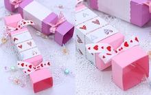 Làm hộp quà hình viên kẹo chỉ từ 1 tờ giấy bìa