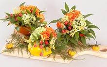 4 cách cắm hoa với quả khiến ai cũng thích thú