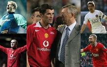 Top 10 cầu thủ xuất sắc nhất của Sir Alex trong những năm dẫn dắt Quỷ đỏ