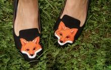 2 kiểu biến hóa cho đôi giày đế bệt