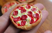 Bánh pizza đất sét nhìn chỉ muốn ăn ngay