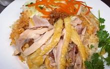 Thưởng thức cơm gà quê trộn nấm mới tại Nấm Việt 76 , 195 Lò Đúc