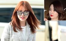 Yoon Eun Hye nổi bần bật tại sân bay, xinh đẹp hơn nhờ giảm cân