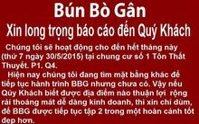 Quán bún bò gân độc đáo nhất Sài Gòn sắp đóng cửa