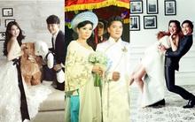 """Những ảnh cưới """"giả"""" của sao Việt"""
