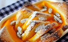 Bánh mì nướng bí đỏ thơm ngậy cho ngày mới đầy năng lượng