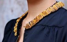 """Trang trí áo bằng kim băng - """"Xì-tai"""" cho cô nàng cá tính"""