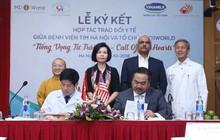 Lễ ký kết hợp tác trao đổi y tế giữa MD1WORLD và Bệnh viện Tim Hà Nội