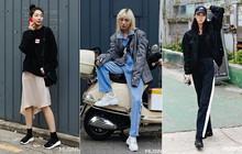 Săm soi street style giới trẻ Hàn tuần qua, bạn sẽ học được hàng loạt tuyệt chiêu ăn mặc thoải mái mà vẫn đẹp tuyệt vời